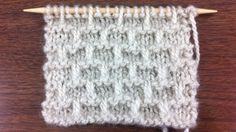 The Brick Stitch :: Knitting Stitch #56 :: New Stitch A Day