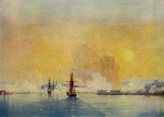 Ivan Aivazovsky Paintings | Arrival into Sevastopol Bay