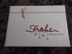 Sconebeker Stempelscheune - Stampin up Set : Winterliche Weihnachtsgrüße