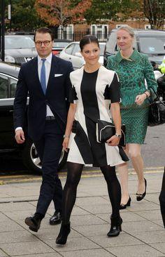 Princess Victoria - Princess Victoria and Prince Daniel Visit London