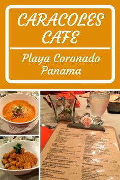 Caracoles Cafe is a fun restaurant that has dozens of delicious items that you will not want to miss. Some comfort meals and some chef-inspired creative concepts, the service is impeccable and the food tasty! Visit them in Playa Coronado, one hour outside of Panama City.