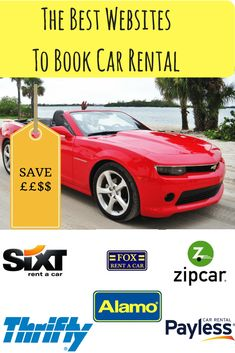 The Best Websites to Book Car Rental One Way Car Rental, Best Car Rental, Car Rental Coupons, Cool Websites, Rental Websites, Compare Cars, Booking Sites, Good Things, Books