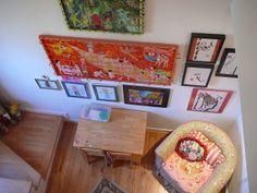 sitting room/second bedroom/helena's room/stairs on left lead to my art studio by jenniferbeinhacker.com, via Flickr