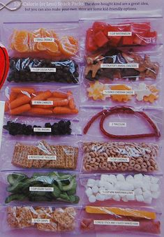 (or Less) Snack Packs: the store-bought kind are a great idea, but you can also make your own. Here are some kid-friendly (or Less) Snack Packs: the store-bought kind are a great idea, but you can also make your own. Here are some kid-friendly options. Healthy Recipes, Healthy Kids, Gourmet Recipes, Snack Recipes, Cheap Healthy Snacks, Delicious Recipes, 100 Calorie Snacks, Low Calorie Recipes, 500 Calorie Diets