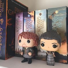 """Picked up my little Jamie and Claire  #outlander #jamiefraser #clairefraser"""