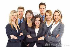 Business people by Kurhan, via Dreamstime