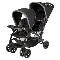 Baby Trend Sit N Stand Double Stroller - Chrome (Grey)