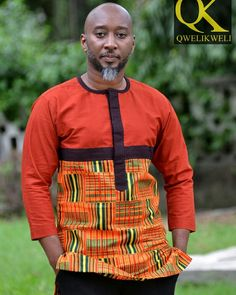 African Wear Styles For Men, African Shirts For Men, Ankara Styles For Men, African Dresses Men, African Attire For Men, African Clothing For Men, Latest African Fashion Dresses, African Print Fashion, African Clothes