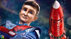 Thunderbirds Are Go - Alan Tracey and Thunderbird 3