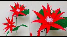 Paper Flower Perfumed Passion Flower \ Passiflora Vitifolia (flower # 177)
