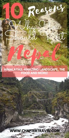 Visit Nepal | Destination Inspiration | 10 Reasons why you should visit Nepal | Himalayas | Amazing mountains | Landscape Nepal | Friendly local Nepalese people | Amazing wildlife in Nepal | Bardia | Chitwan | Adventurous activities Nepal | Outdoor Nepal | Trekking in Nepal | Nepalese Cuisine | Nepal Food | Cheap Travel in Nepal | Affordable travel Nepal | Nepal Culture | Cultural Experience Asia | Shopping in Nepal | Kathmandu | Love Nepal | Destination Inspiration |