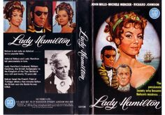 Lady Hamilton feature directed by Christian-Jaque; released in United Kingdomon Betamax, VHS videotape by Go Video. John Mills, Two Sicilies, Michele Mercier, Mistress, Hamilton, United Kingdom, It Cast, British, Hero