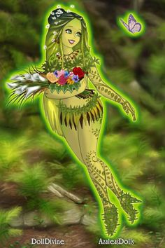 Greenery by BFP ~ High Fantasy Dress Up