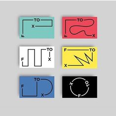 Michael Kunz and Emanuel Heim created these business cards for their designing studio, Studio Flex. Business Card Design Inspiration, Unique Business Cards, Motion Design, Design Process, Poster Prints, Graphic Design, Instagram Posts, Corporate Identity, Brand Identity