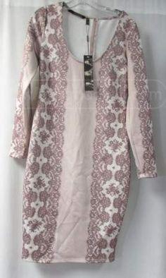 shopgoodwill.com: Beautiful Mauve Pink Kardasian Kollection Dress