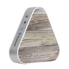 Rustic Weathered Patina Wood from Old Dock Bluetooth Speaker