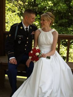 My son Chris and his wife - June 2010