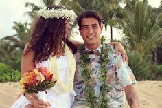 Hawaiian Haku Head Lei , Flowers & Lei's - Hawaii Weddings, Married with Aloha, Hawaii - 1