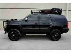 Dream car. Lifted chevy tahoe