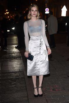 Emma Roberts au défilé H&M