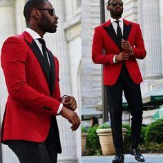 #dailydoseofdapper Red hot! @musikafrere @davidson_frere #dappergrooms…