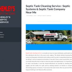 Septic Tank Cleaning Service Gig Harbor, DC | Visual.ly