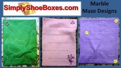 how to make marble mazes fabric waldorf - Google Search