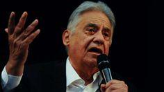 """<p>Fernando Henrique descreve a situação do Brasil como """"calamitosa"""".</p>"""