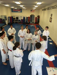 GREAT Friday! D.tech Karate in the am. BrownBelt exam day#1 tonight.  #powerfilled