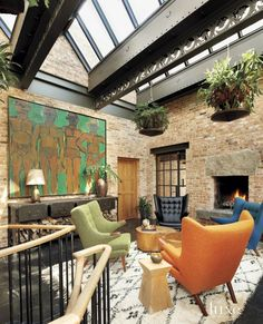 Eclectic Multi-Colored Conservatory
