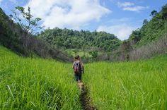Hike to Cuevas Ixobel, Finca Ixobel, Poptun