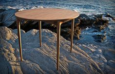 Studio Dunn - Newport Table: Timeless dining table for small spaces