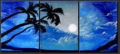 paintings of bora bora - Google Search