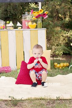 Carter Family Lemonade Stand Mini | McPherson and Sterling Photographer » Lisa Stout Photography