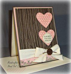 Earthy Hearts card