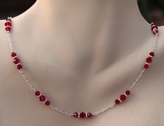 Siam Triple Crystal Necklace | Flickr - Photo Sharing!