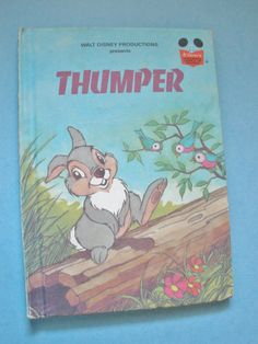 Thumper Disney Childrens Book