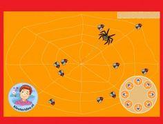 Insecten vangen met kleuters op het digibord, voor meer info en digibordlessen kijk op kleuteridee