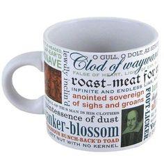 Unemployed Philosophers Guild- Shakespearean Insults - Mug