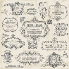 16401978-vector-set-calligraphic-design-elements-and-page-decoration-vintage-frame-collection-with-flowers.jpg (400×400)
