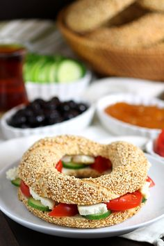 Simit is a delicious sesame bread sold in bakeries all over Turkey. It's not difficult to make them with this recipe for Homemade Simit! Lebanese Recipes, Turkish Recipes, Albanian Recipes, Scottish Recipes, Arabic Sweets, Arabic Food, Turkish Simit Recipe, Vegan Bread, Cheap Dinners