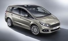 New Release Ford S-MAX 2015 Reveiw Front Side View Model
