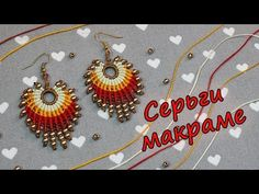 Basic Macrame Knots : Step by Step Guide Macrame Earrings Tutorial, Micro Macrame Tutorial, Earring Tutorial, Beaded Earrings, Crochet Earrings, Macrame Knots, Macrame Jewelry, Macrame Bracelets, Thread Jewellery