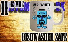 Mr White, Breaking Bad, Mr Men mug https://www.etsy.com/uk/shop/customprintuk