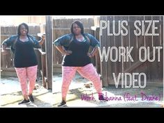 "Plus Size Workout Video | Rihanna ""Work"" feat. Drake - Plus Size Princess"