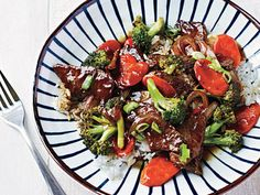 Beef and Broccoli Bowl | Learn how to make Beef and Broccoli Bowl. MyRecipes has 70,000  tested recipes and videos to help you be a better cook