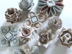 Series 1 - Parts 6 and 7: THE FEAST OF THE FLOWER: Egg Cartons - Michele Made Me
