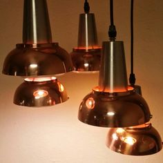 New! Danish multi pendant light