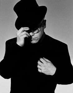 Elton John with Top Hat, Los Angeles by Herb Ritts 1989