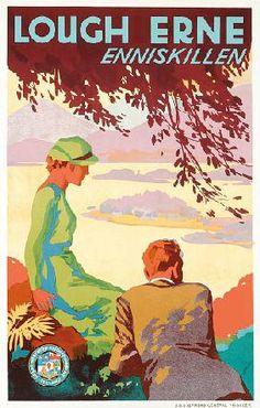 Lough Erne - Enniskillen - 1920/30 -